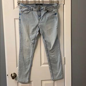 Jordache Skinny Light Wash Jeans Size 12